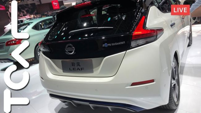 [2018 北京車展] Nissan All-New Leaf