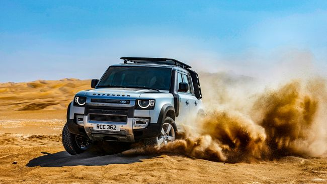 路由我開 地表最強防衛軍 LAND ROVER New Defender登場!