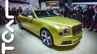 [2016 日內瓦車展] Bentley Mulsanne