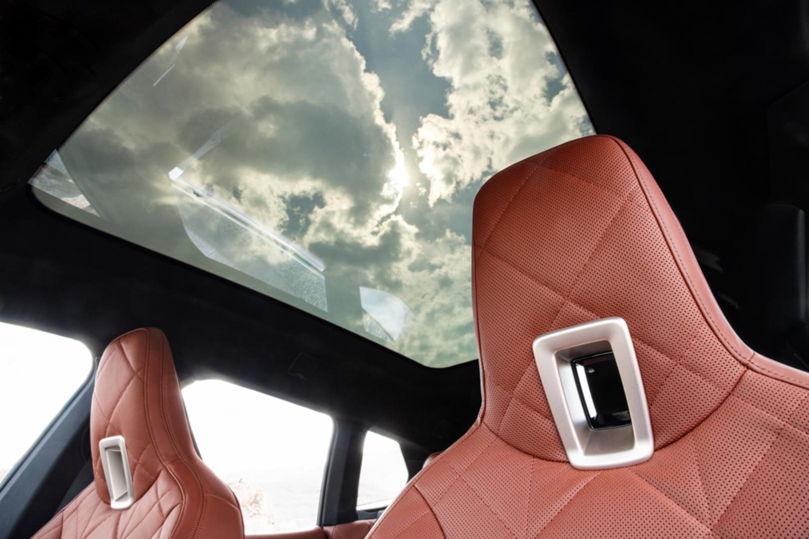 SMALL_[新聞照片六]全新電控調節採光全景式玻璃車頂,可透過電控調節變色遮陽,適時調節車室空間採光