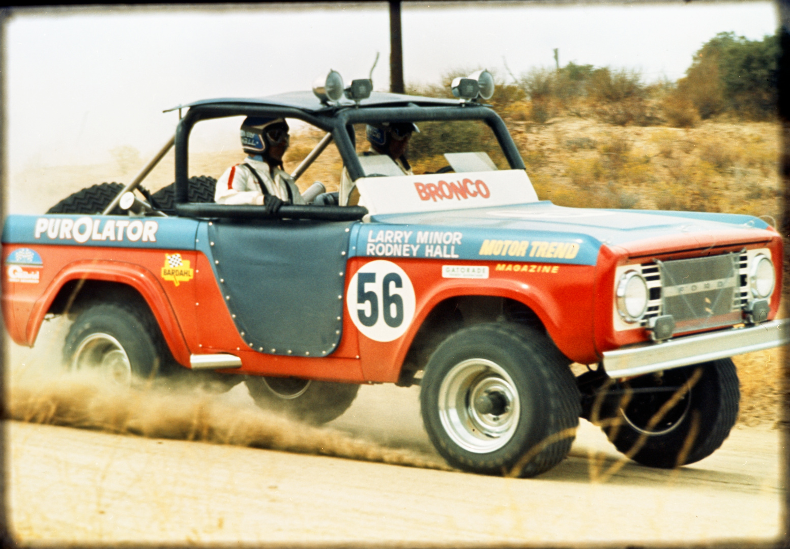 SMALL_1969 Ford Bronco NORRA Baja 1000 Larry Minor Rod Hall CN5877-014